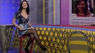 Iveta Korínkova Beautiful Czech Tv Presenter 25.11.2010