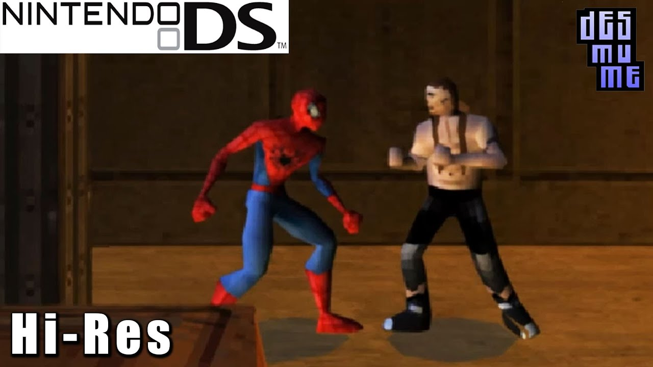 Spider-Man 2 - Nintendo DS Gameplay High Resolution (DeSmuME)