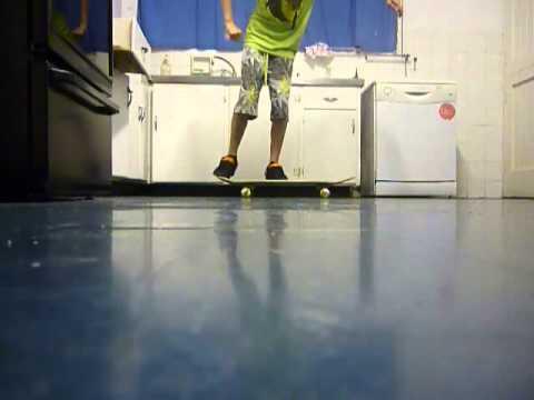 how to break on a skateboard