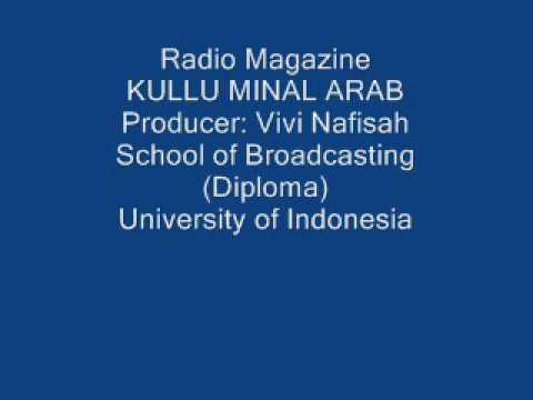 Kullu Minal Arab   Radio Magazine RAS FM Jakarta