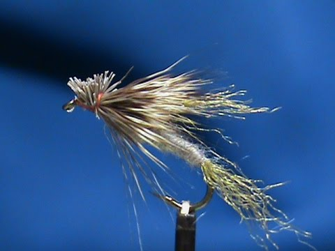 how to tie a march brown dry fly
