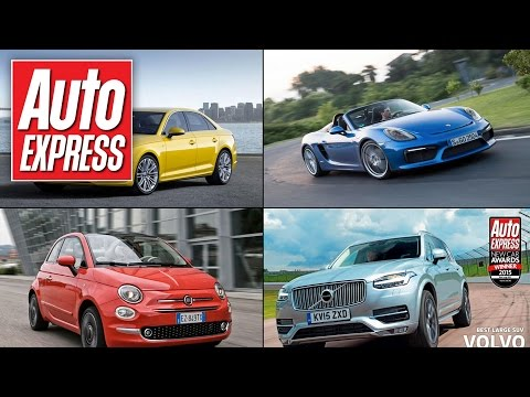 New Fiat 500 and Car of the Year  Auto Express  in 90 secs