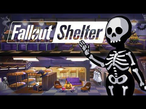 Fallout Shelter - Скелеты и Призраки! Обзор (iOS)
