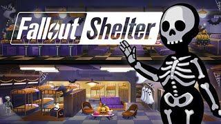 Fallout Shelter - Скелеты и Призраки Обзор iOS