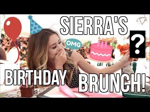 Download Youtube: SIERRA'S BIRTHDAY BRUNCH!