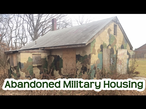 Abandoned New Jersey Military Housing