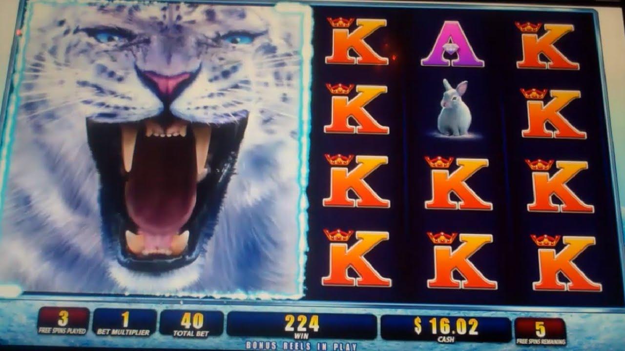 Snow Leopard Slot Machine
