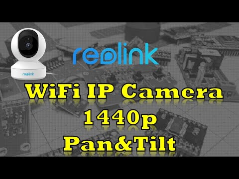 Reolink E1 Pro - 1440p 4 megapixel | 5ghz WiFi | RTSP with