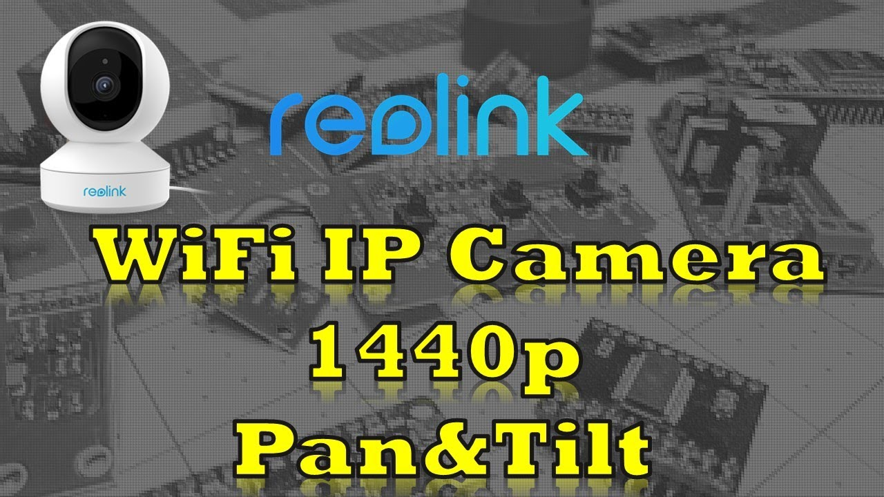 Reolink E1 Pro - 1440p 4 megapixel | 5ghz WiFi | RTSP with Pan/Tilt