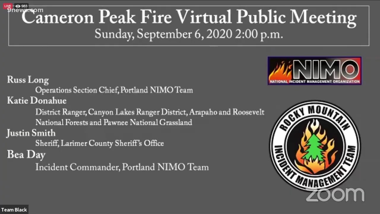 Cameron Peak Fire and other wildfires are prompting evacuations in ...