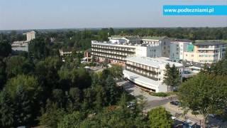 Klinika Uzdrowiskowa Pod Tężniami z lotu ptaka www.podtezniami.pl