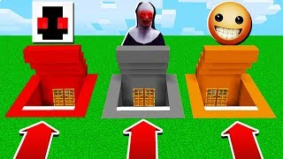 DO NOT CHOOSE THE WRONG SECRET BASE in Minecraft Pocket Edition