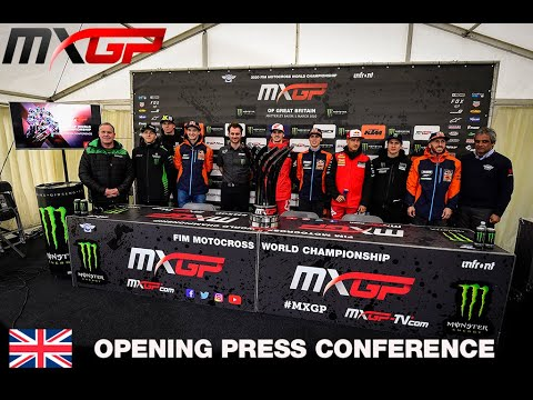MXGP Opening Press Conference 2020 - MXGP of Great Britain - Motocross