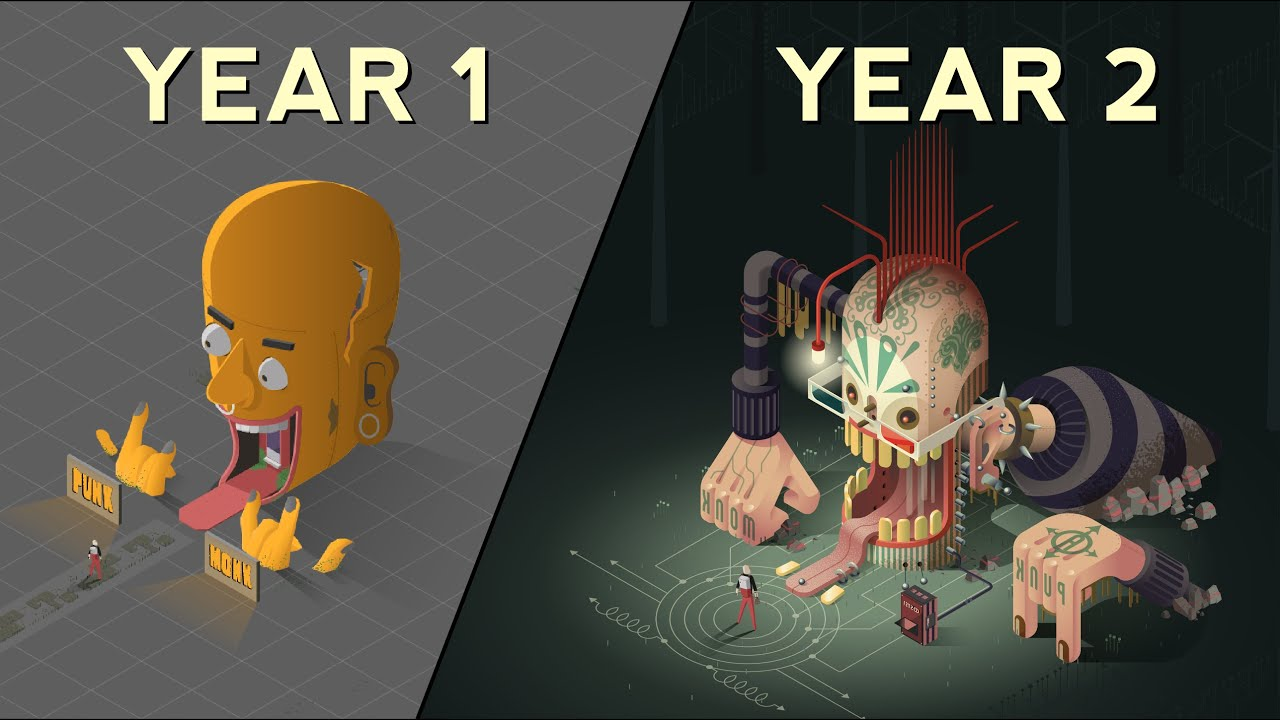 2 Years of Unity Game Development - Atrio