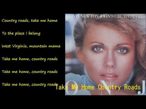 Take Me Home Country Roads (カントリー・ロード) / OLIVIA NEWTON-JOHN
