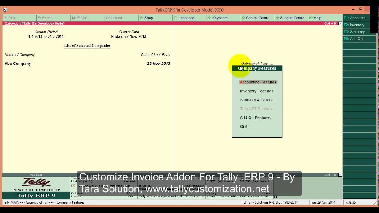 Customize Invoice For Tally .ERP 9   YouTube  Customize Invoice