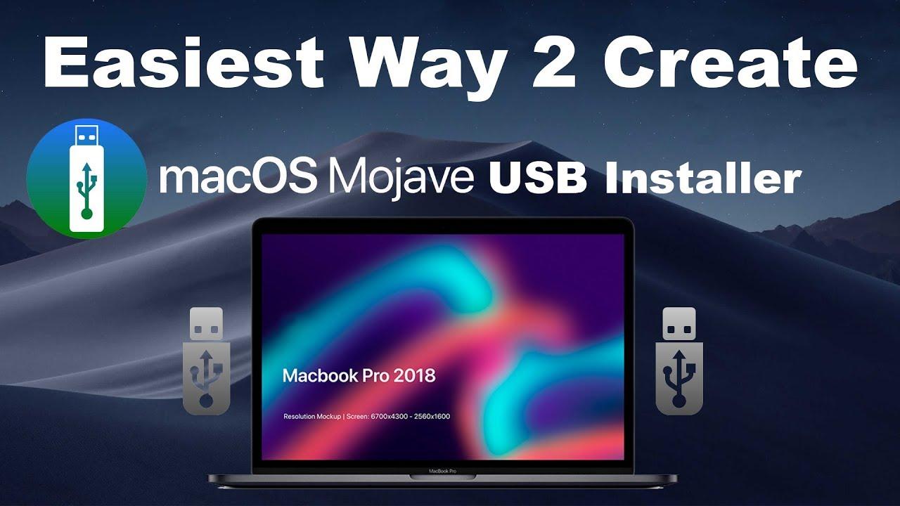 Easiest Way: Create MacOS Mojave Bootable USB [2018]