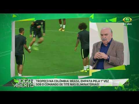 Paulo Martins: Brasil Jogou Bem Contra A Colômbia