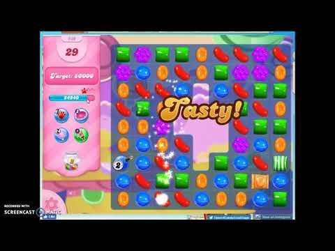 Candy Crush Level 630 Audio Talkthrough, 3 Stars 0 Boosters