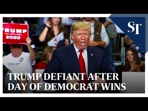 Trump defiant after