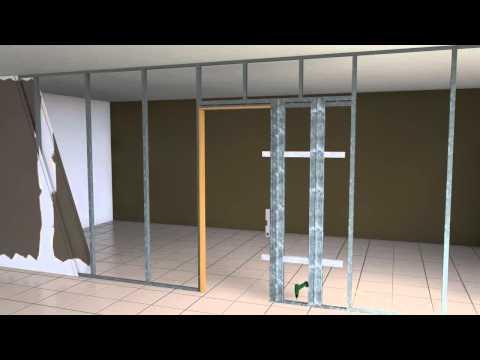Montaje de casoneto doovi for Armazon puerta corredera