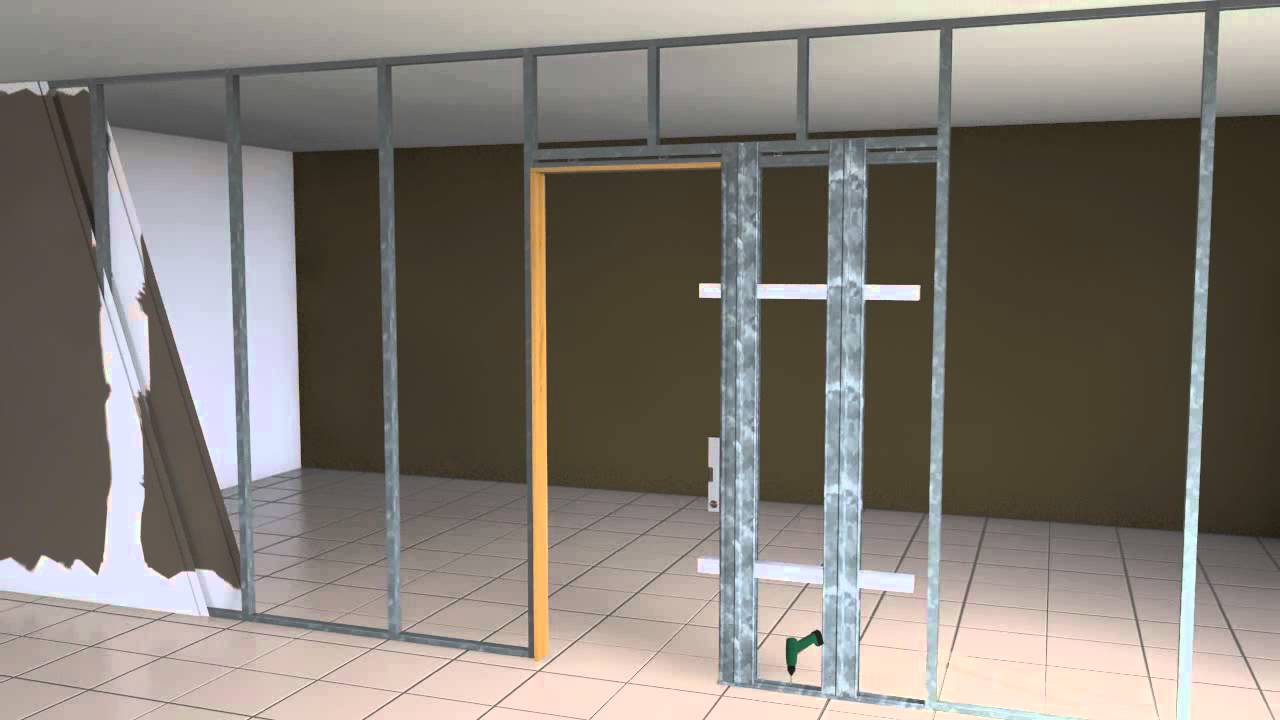 Kit de armaz n desmontable para puerta corredera youtube for Construir puerta corredera