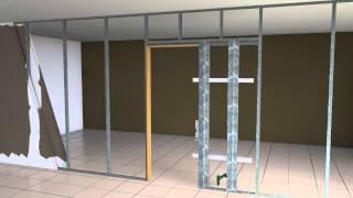 Kit de Armazón desmontable para puerta corredera