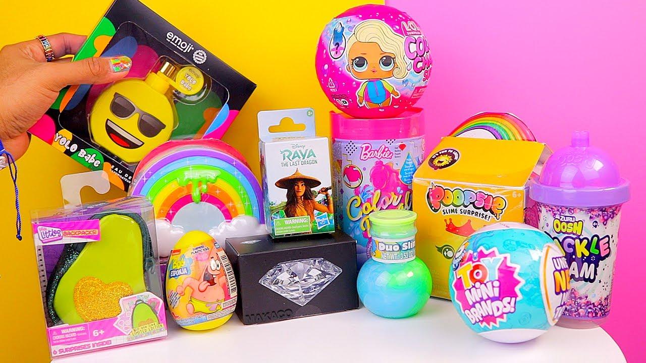 Compro y Abro TODOS los Juguetes Mas Locos y Minis Fidgets Toys, Diamantes, Slime y Mas con MAKACO!