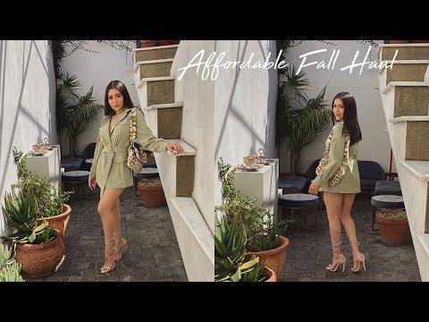 FALL TRY ON HAUL | Daisy Marquez
