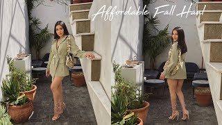 FALL TRY ON HAUL | Daisy Marquez