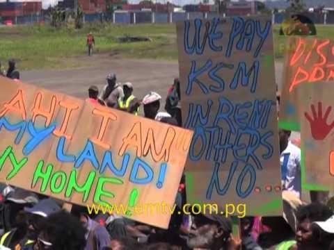 Lae's Ahi Landowners Fight Land Grabbing In The City
