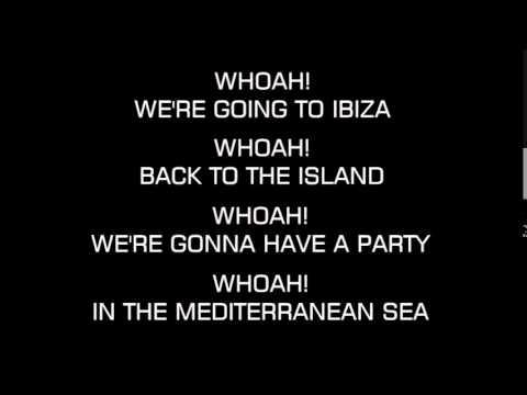 We're Going to Ibiza - Vengaboys (Karaoke/Instrumental)