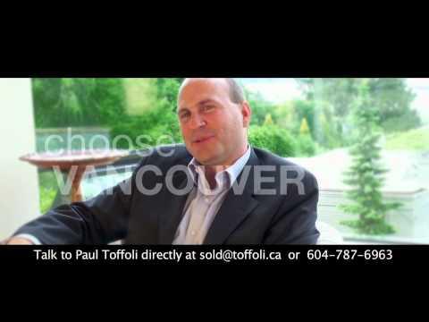 Vancouver Realtor Paul Toffoli Bio 2012