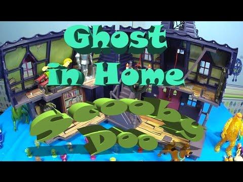 Ghost in Home Scooby Doo Дом с привидениями Скуби Ду