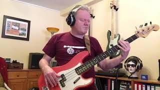 Fender American Vintage 62 Precision with Daddario Nylon Tapewound ETB92