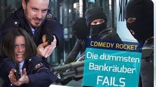 """Die DÜMMSTEN Bankräuber FAILS - """"Vier gegen die Bank"""" PARODIE!"""