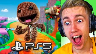 NEW PS5 SACKBOY ADVENTURES PLAYTHROUGH!