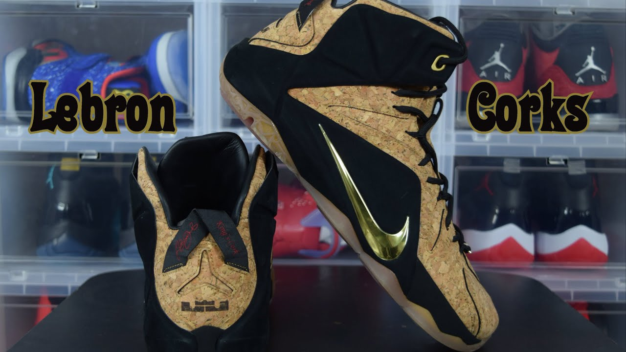 8f33ae3c6a8 Sneaker Collection  Lebron 12 Cork    Unboxing and Review (   air trafficking ) - YouTube