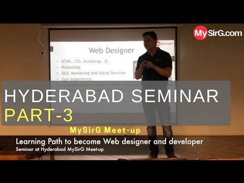Learning Path To Become Web Designer And Developer | Part-3