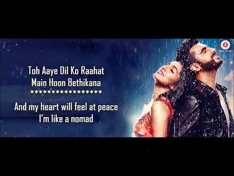BaarishAtif Aslam & Shashaa TirupatiHalf Girlfriend 2017Lyrical Video With TranslationYo