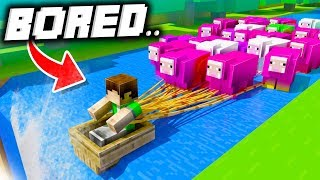 21 Things to Do When You're Bored in Minecraft!