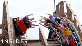 Roller Coaster Lets You High Five Other Riders