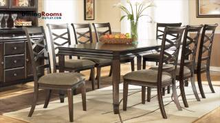 This Video Previously Contained A Copyrighted Audio Track. Due To A Claim By A Copyright Holder, The Audio Track Has Been Muted.     Ashley Hayley 7-pc Rectangular Extension Dining Table Set
