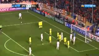 APOEL Nicosia vs Real Madrid 0-3 goal  highlights 27/03/2012 Champions league