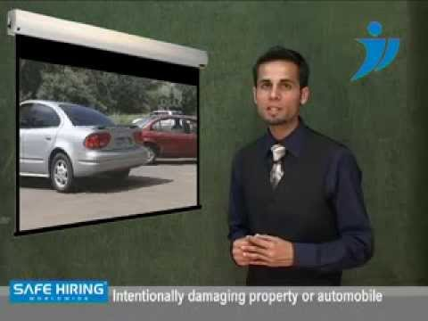 Insurance Claim Frauds Investigation - Safe Hiring Worldwide