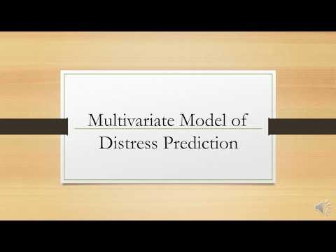 Multivariate Model of Distress Prediction