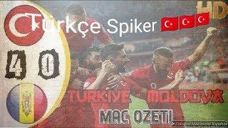 Türkiye 4-0 Moldova Harika Maç Özeti 25.03.2019