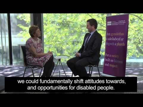 Chris Holmes interview - Equality and Human Rights Commission