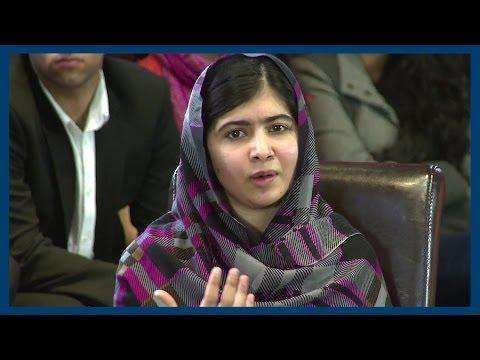 Compulsory Education | Malala Yousafzai | Oxford Union