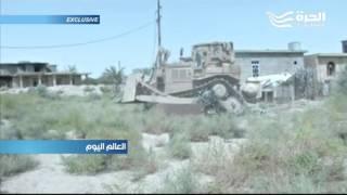 """القوات العراقية تعلن تحرير حي الشهداء جنوب مدينة الفلوجة من قبضة تنظيم """"داعش"""""""